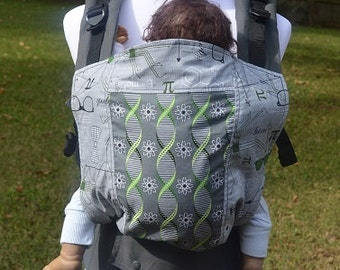 "Ready to Ship - Juicy Ann Soft Structured Baby Carrier SSC: ""Atmosphere"" Mash Up"