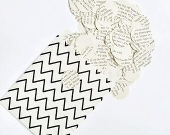 """J. K. Rowling """"Harry Potter and the Philosopher's Stone"""" - 250 circle paper confetti from recycled book"""