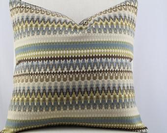 Kravet designer pillow cover,accent pillow, decorative pillow,throw pillow lumbar pillow,same fabric on front and back.
