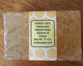 Honey Bee Natural Handmade Soap~Certified Organic Honey