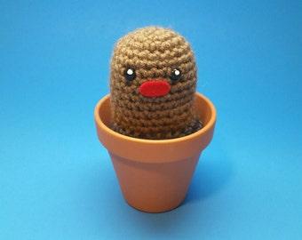 Diglett Planter, Pokemon plush