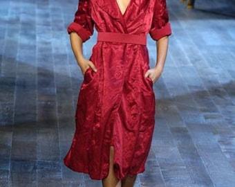 Silk Lanvin coat