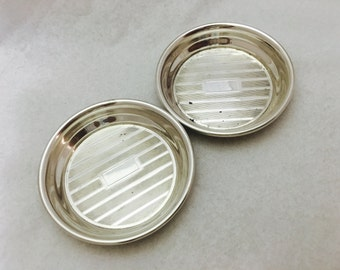Vintage Sterling Silver Condiment Dishes