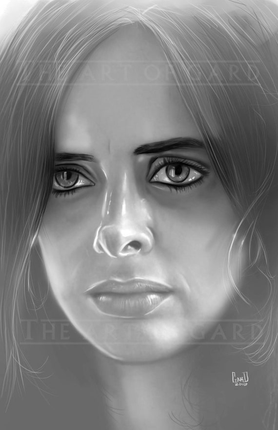 Jessica Jones Portrait 11x17 Art Print
