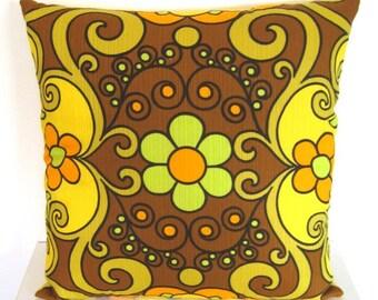 Groovy 1970's Fabric Cushion