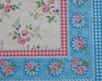 Floral Tissue Paper Napkins for decoupage and crafts