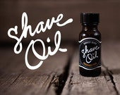 Shave Oil: smooth gliding surface for classic wet shaving