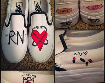 Custom made Nursing/RN Vans. Designed and personalized just for you!