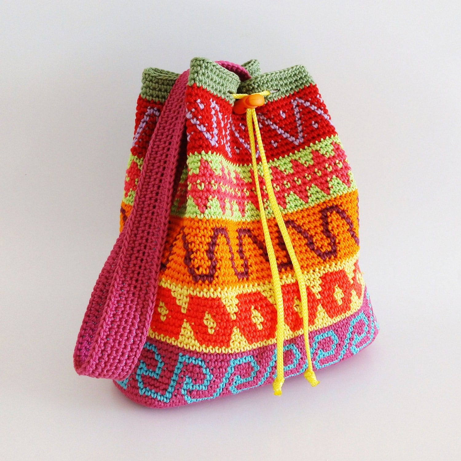 How To Crochet Wayuu Bag | Solution for how to for dummies