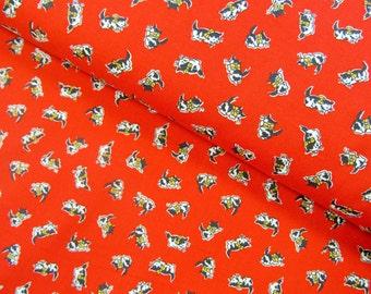 Morningside Farm - Kittens(Red Background) - 1930's Reproduction  - Darlene Zimmerman - Robert Kaufman