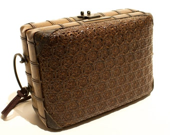 Japanese Woven Lunch Box
