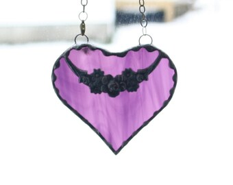 Stained Glass Heart #5 - Mother's Day