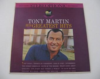 Tony Martin - His Greatest Hits - 1961