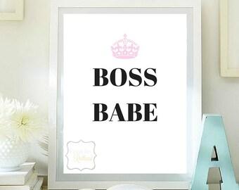 Boss babe pintable