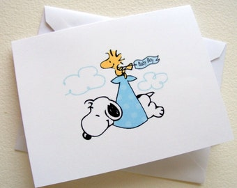 snoopy baby shower invitations