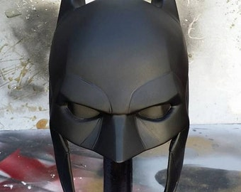 1:1 Arkham Knight Batman Cowl v8.04