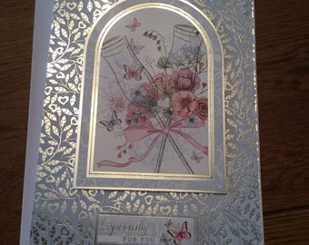 Hand made greeting card - especially for you