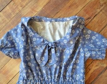 Sailor collar dress