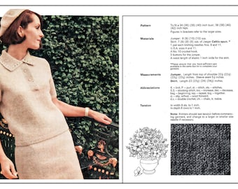 Knitting and Crochet cd of vintage patterns and booklets all updated & printable