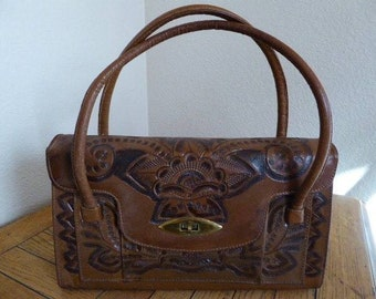 VERY Unusual & Unique Vintage Handbag Made In USA - One Of A Kind!!!