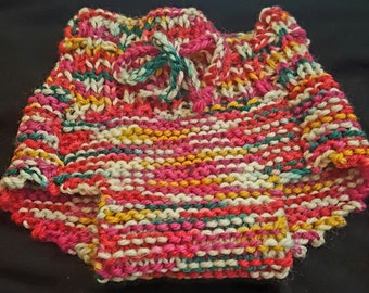 Natural Wool Diaper cover