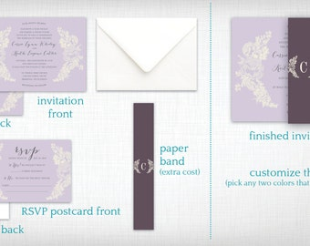 Wedding Invitation: Cassie + Keith