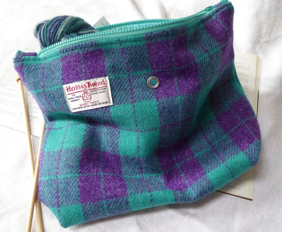 Knitting Project Bags Uk : Knitting bag project sock harris