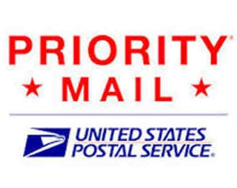 """Shipping Add On """" Priority Mail """""""