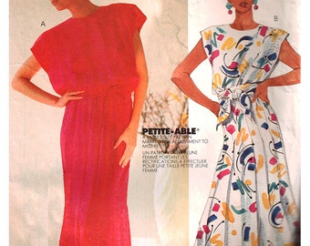 McCall's Sewing Pattern P925 Misses' Dress, Sash  Size:  12  Used