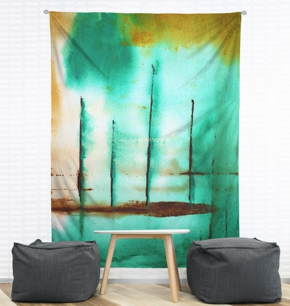 Wall Tapestry Home Decor : Piers hanging wall tapestry home decor by janetanteparadesigns