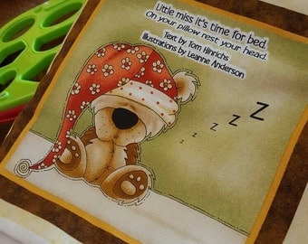 Little Miss it's Time for Bed~Cuddle Book