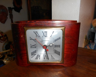 Sessions Model 3A Art Deco electric mantle clock