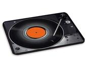 Turntable 3 Record Player DJ Decks Music Vinyl PC Computer Mouse Mat Pad
