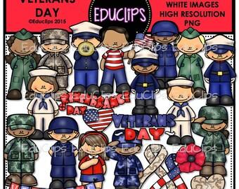 Veterans Day Clip Art Bundle