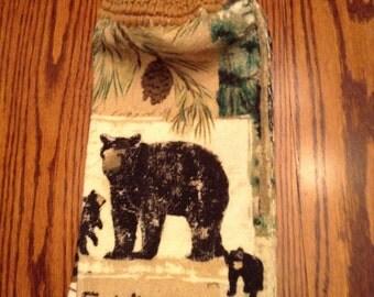 Crochet top towel #29