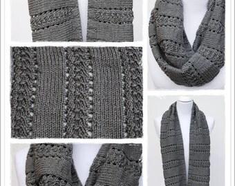 Knitting Pattern Cowl Cashmino