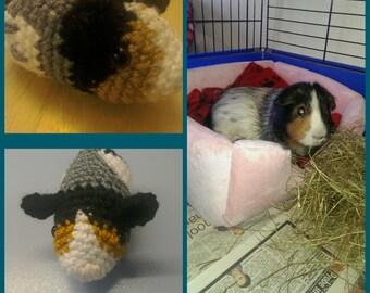 Guinea pig cavy guineapig soft toy pet portrait
