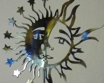 Moon and Sun on a Stick