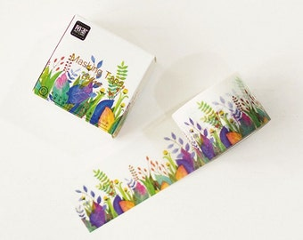 Field Washi Tape -- Japanese Washi Tape -Deco tape-- 30mm x10M