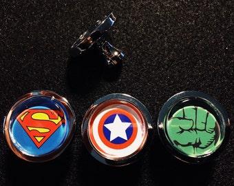 Superhero themed drawer pulls/cabinet knobs