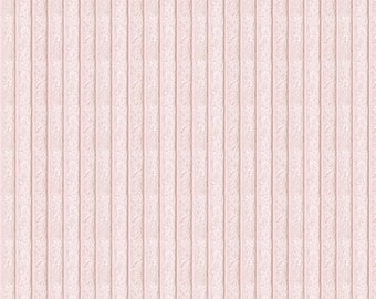 Baby Pink Chenille Fabric - By The Yard - Girl / Solid / Fabric