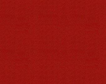 Solid Scarlet Red Minky Fabric - By The Yard - Boy / Girl / Gender Neutral