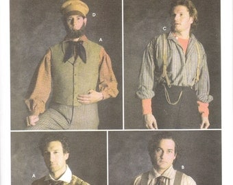 Simplicity 5037 Men's Civil War Costume Pattern, 38-44