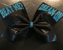 Beat Me? Dream On Cheer Bow