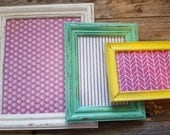 Distressed frame set: One (8x10, 5x7, 4x6)