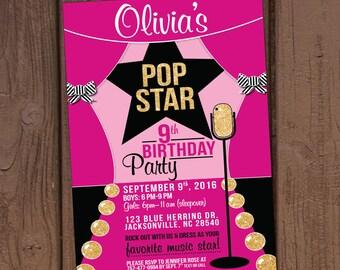 anniversaire pop star