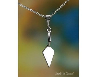 Sterling Silver Hand Trowel Necklace or Pendant Only Flat Trowels .925