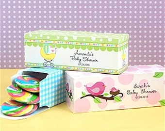 Rectangular Baby Shower Favor Boxes (Set of 24)