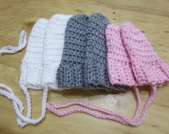 Many Colors, Baby Mittens, Mittens, Infant Mittens, Thumbless Mittens, Soft Baby Mittens, Handmade mittens, 0-24 months