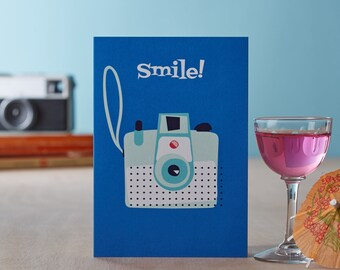 Smile! Greetings Card